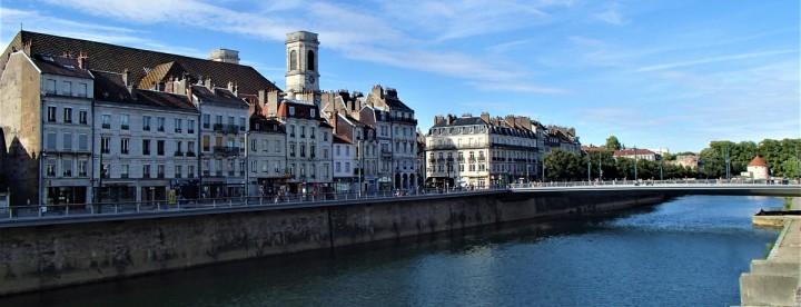 Besançon the 17th century Quai Vauban
